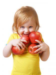 Tussendoortjes kind met appels | Geniet MEER
