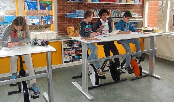 Bewegen in de klas fietsen | Geniet MEER
