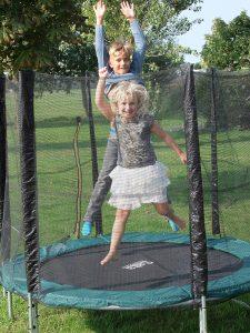 Bewegen trampoline springen | Geniet MEER