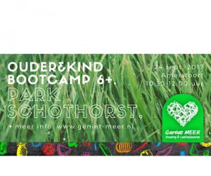 Ouder&kind-bootcamp 240917 | Geniet MEER
