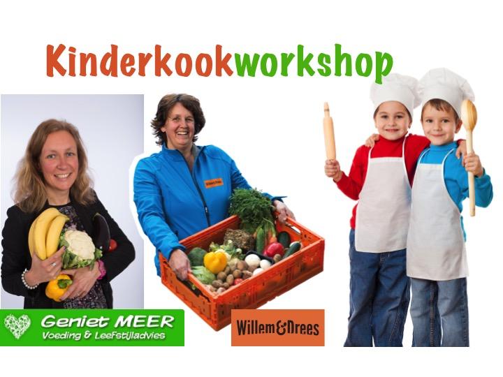 Kinderkookworkshop 23 mei | Geniet MEER en Willem & Drees