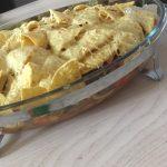 mexicaanse bonen met chipsdakje