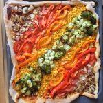 recepten regenboogpizza | Geniet MEER
