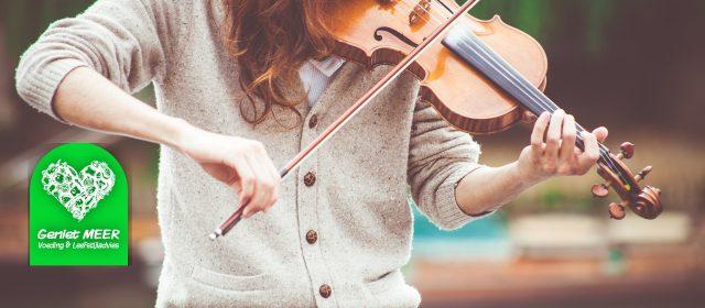 Duurzaam veranderen: afvallen en een muziekinstrument?