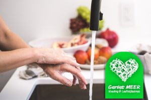 Handen wassen Corona update - gezond ritme - blijf gezond | Geniet MEER